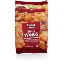 Great Value Barbeque Seasoned Chicken Wings