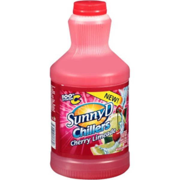 Sunny D Chillers Cherry Limeade Citrus Punch