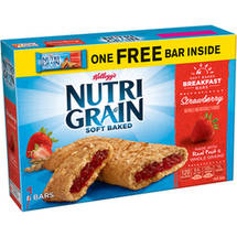 Kellogg's Nutri-Grain Soft Baked Strawberry Breakfast Bars 9 ct