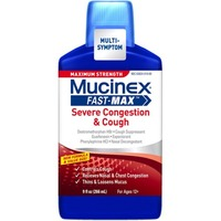 Mucinex Fast Max Serve Congestion And Cough