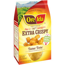 Ore-Ida Extra Crispy Tater Tots Seasoned Shredded Potatoes