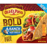 Old El Paso Stand 'n Stuff Ranch Flavored Taco Shells