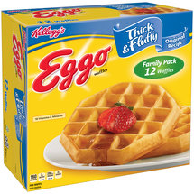 Kellogg's Eggo Thick & Fluffy Original Recipe Waffles
