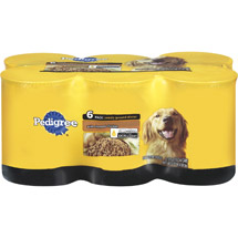 Pedigree W/ Chopped Chicken Meaty Ground Dinner Multi Pack