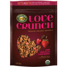 Love Crunch Dark Chocolate and Red Berries Granola