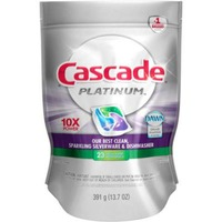 Cascade Platinum ActionPacs Dishwasher Detergent Fresh Scent 23 Ct  Dish Care