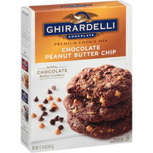 Ghirardelli Chocolate Peanut Butter Chip Cookie Mix