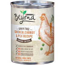 Purina Beyond Natural Wet Dog Food Grain Free Chicken Carrot and Pea Recipe Ground Entree
