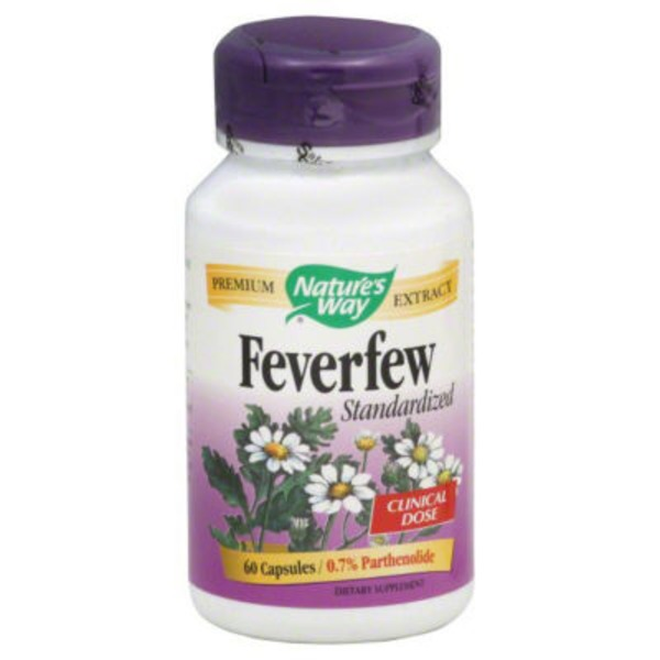 Nature's Way Feverfew Standardized