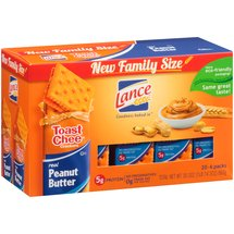 Lance Toast Chee Real Peanut Butter Sandwich Crackers