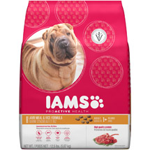 Iams ProActive Health Adult Lamb Meal and Rice Premium Dog Food