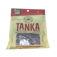 Tanka Bites Buffalo Meat With Cranberries and Pepper Blend, Spicy Pepper