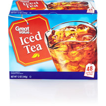 Great Value Iced Tea Family Size Tea Bags
