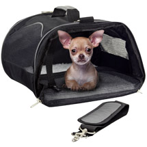 WorldPet Soft-Sided Pet Carrier Color May Vary