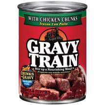 Gravy Train Chunks In Gravy Cat Food With Chicken