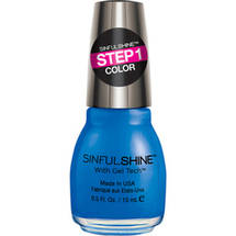 SinfulColors SinfulShine Step 1 Color Nail Color Most Sinful