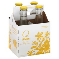 Q Drinks Soda, Superior Sparkling Lemon