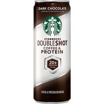 Starbucks Doubleshot Dark Chocolate Coffee & Protein Beverage