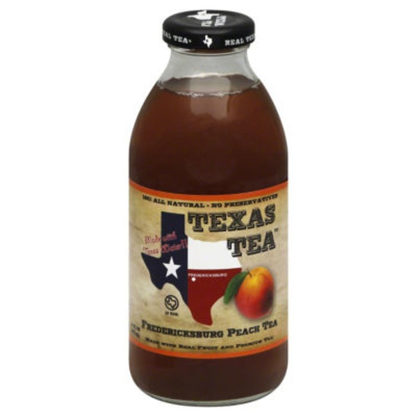 Texas Tea Tea, Fredericksburg Peach