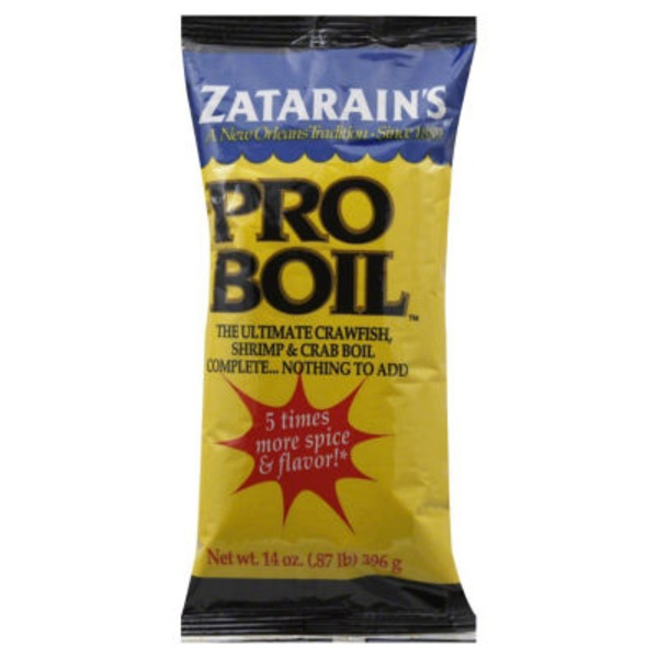 Zatarain's Pro-Boil Crawfish Shrimp Crab Boil