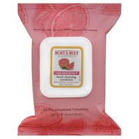 Burt's Bees Facial Cleansing Towelettes Pink Grapefruit - 30 CT