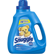 Snuggle Blue Sparkle With Fresh Release Liquid Fabric Softener