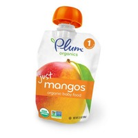 Plum Baby Just Mangos Stage 1 Baby Food