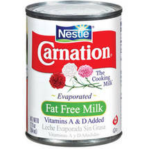 Carnation Vitamins A & D Added Fat Free Evaporated Milk