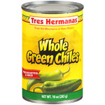 Tres Hermanas Whole Green Chiles