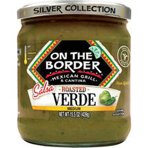 On The Border Medium Roasted Salsa Verde