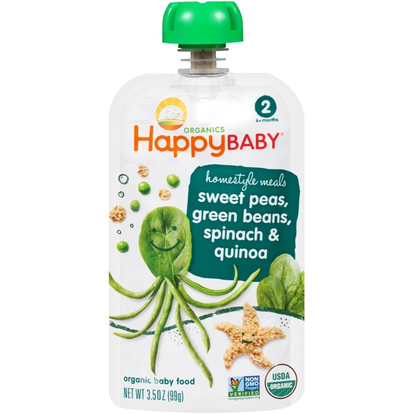 Happy Baby/Family Homestyle Meals Organic Baby Food