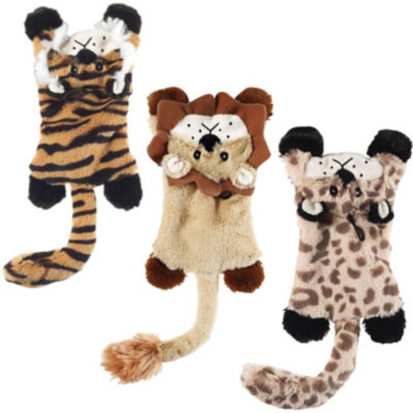 Ethical Pro. Plush Skinneeez Flat Cat Toy