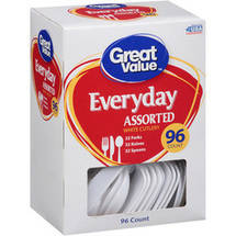 Great Value Assorted Cutlery