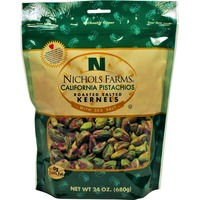 Nichols Farms California Pistachio Roasted Salted Kernels
