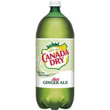 Canada Dry Diet Ginger Ale Soda