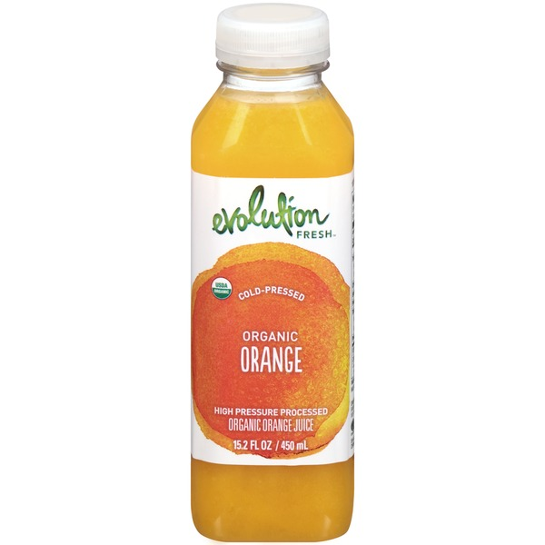 Evolution Fresh Cold-Pressed Organic Orange Juice