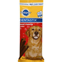 Pedigree Dentastix Daily Oral Care Treats for Large Dogs Beef Flavor