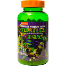Nickelodeon Teenage Mutant Ninja Turtles Multivitamin/Multimineral Dietary Supplement Gummies