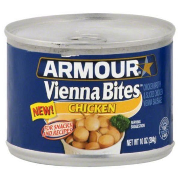 Armour Chicken Vienna Bites