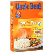Uncle Ben's Boil-In-Bag Enriched Parboiled Long Grain Rice