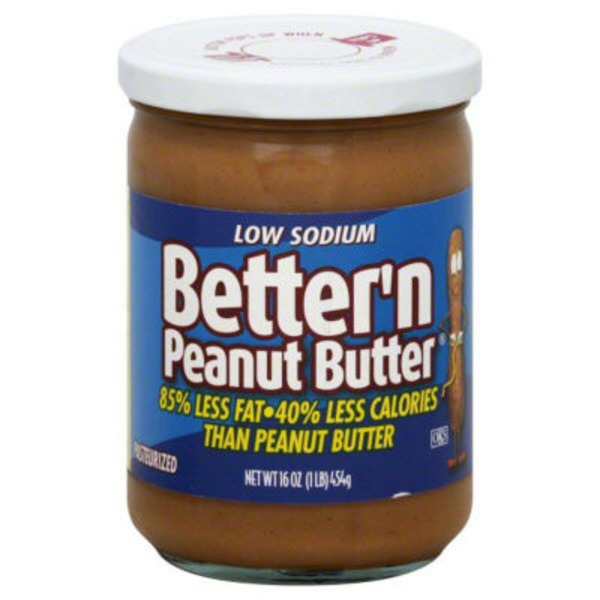 Better'n Peanut Butter Better 'n Peanut Butter Low Sodium