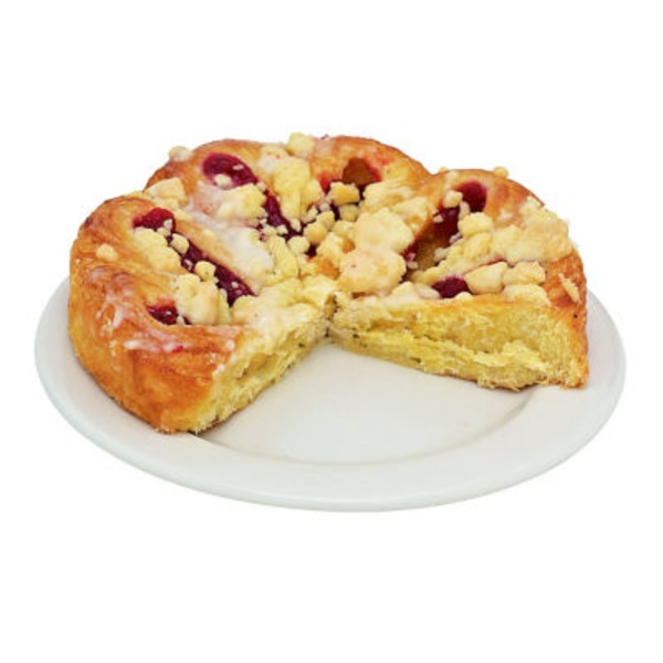 H-E-B Strawberry Butterhorn Danish