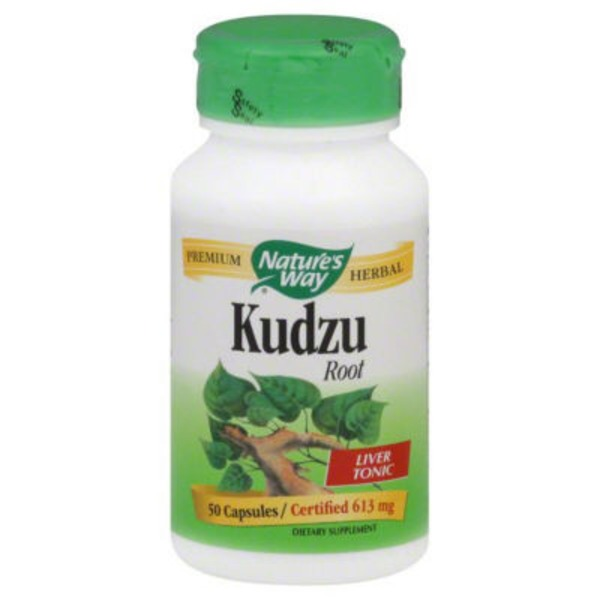 Nature's Way Kudzu, Root, 613 mg, Capsules