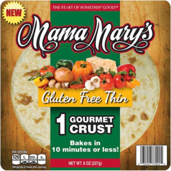 Mama Mary's Gluten Free Thin Pizza Crust