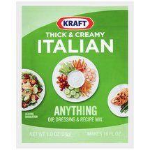 Kraft Thick & Creamy Italian Anything Dip Dressing & Recipe Mix