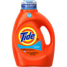 Tide 2X Ultra High Efficiency Detergent Clean Breeze