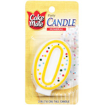 Cake Mate Numeral Candle #0