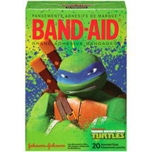 Band-Aid Brand Teenage Mutant Ninja Turtles Assorted Sizes Adhesive Bandages