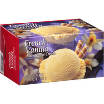 Great Value French Vanilla Flavored Ice Cream