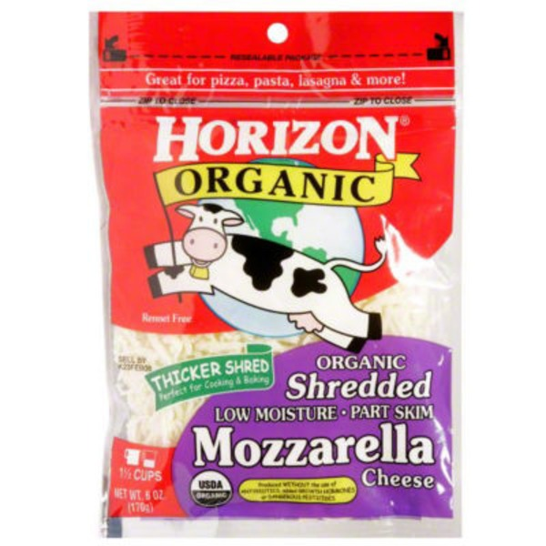 Horizon Organic Shreds Shredded Mozzarella Cheese